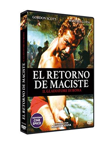 El Retorno de Maciste 1962 Il gladiatore di Roma DVD