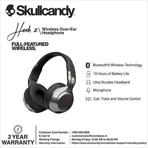 Skullcandy Hesh 2.0 Casque avec Microphone Noir