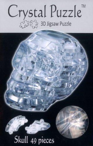 Funtime BV5815 Kristallpuzzle Totenkopf, farblos