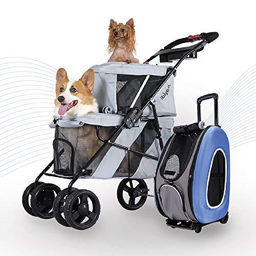 Best Bundle Double Pet Stroller For Traveling