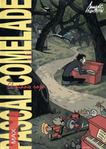 El Piano Rojo (Comic + CD) (Castellano)