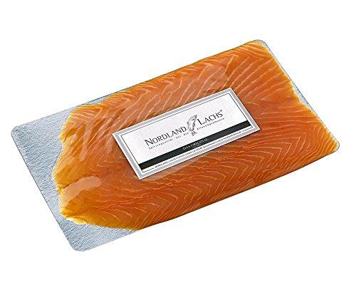 250g Nordland Lachs Ultrapremium Räucherlachs aus Schottland handfiletiert geräuchert geschnitten - TOP Kühlversand