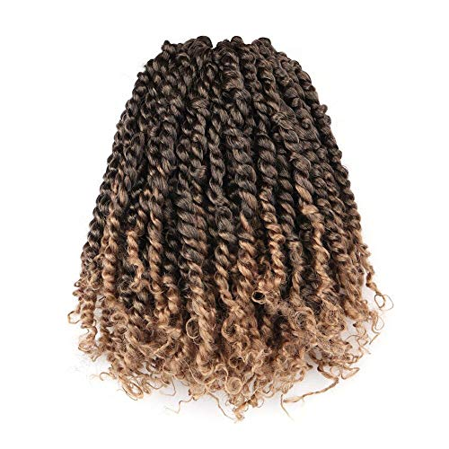 ToyoTress Tiana Passion Twist Hair - 10 inch 8 Packs Pre-Twisted...