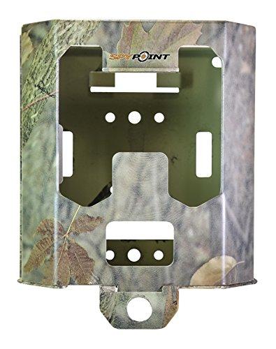 Spypoint Metallgehäuse SB-200 Kameras mit 42 LEDs (mit SOLAR und Antenne) Wildüberwachungskamerazubehör, Camo, S