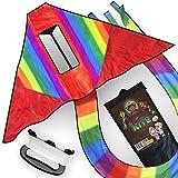 Dubiduwa The DUBI-Kite: Cometas Gigantes DE Colores para niños