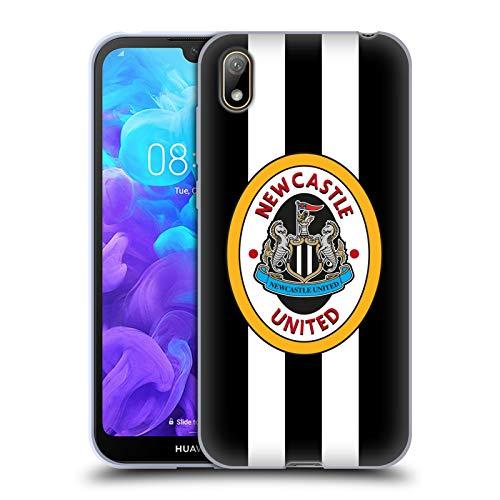 Head Case Designs Officiellt Licensierade Newcastle United FC NUFC 1996 Hemma skjorta Front Retro Badge Kollektion Mjuk Gel Fodral Kompatibelt med Huawei Y5 (2019)