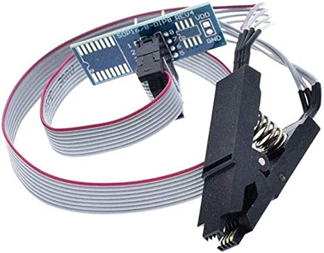 Ch341a 24 25 Series Eeprom Flash Bios Usb Programmer Module Soic8 Sop8 Test Clip For Eeprom 93cxx 25cxx 24cxx Baumarkt