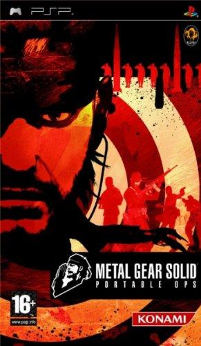 Konami Metal Gear Solid: Portable Ops, PSP