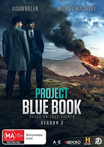 Project Blue Book - Season 2 (3DVD) [PAL ALL REGIONS]
