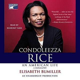 Condoleezza Rice - An American Life audiobook cover art