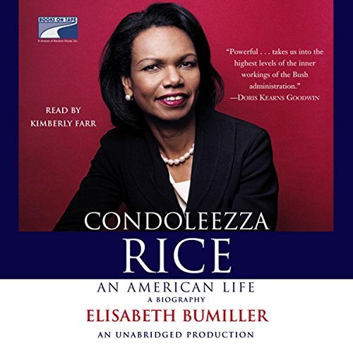 Condoleezza Rice - An American Life audiobook cover art