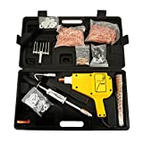 Bestauto Uni-Spotter Stud Dent Welder Kit 1600A Stud Welder Kit 110 V Car Dent Puller with Muti-Hook Weld Meson Pads for Car