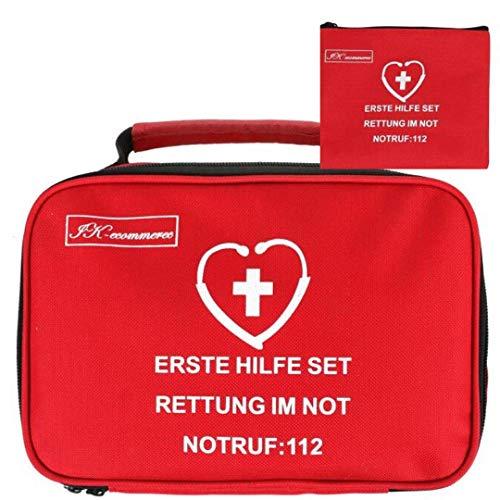 154-teiliges Erste Hilfe Set für Auto,haushalt erst hilfe kasten für Wandern, Sport, Arbeit, Büro,baustelle, Boot,erst hilf koffer für Überleben und Reisen