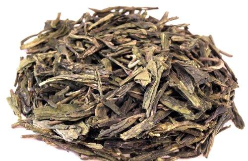 Lung Ching - Guter Drache Drachenbrunnentee Tributtee, Grüner Tee, China, 250g