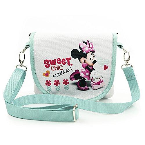 Disney Minnie Mouse SWEET CHIC COLLECTION Schultertasche Mädchen, Kinder Umhängetasche Modell 2018