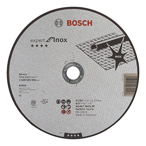 Bosch Professional 2608600096 Schleifzubehör Trennscheibe 230 x 2 mm gerade INO x