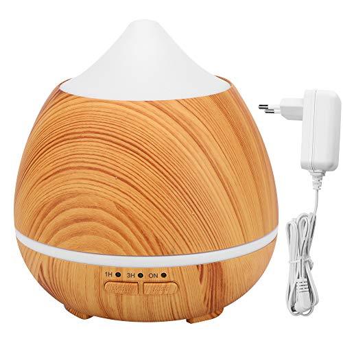 CHICIRIS Máquina de aromaterapia de Grano de Madera, humidificador eléctrico de Escritorio con LED de Colores, Fabricante de Niebla de Aire para Uso doméstico, 250 ml(#2)