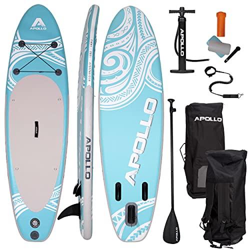 Paddle Surf Hinchable 2 Plazas Marca Apollo