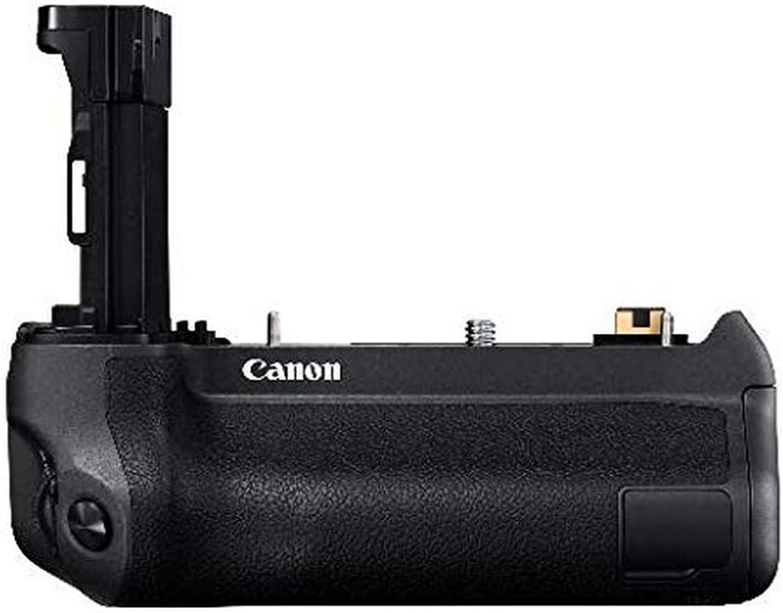 Canon BG E20 Akkugriff für EOS R Kamera Batteriegriff, längere  Aufnahmedauer, für LP E20N Akkus, optimiertes Kamera Handling im Hochformat