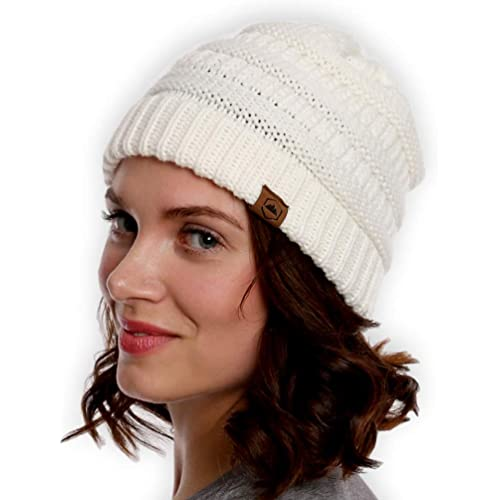 Tough Headwear Cable Knit Beanie - Thick 508af94a608