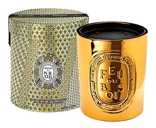Diptyque - Feu de Bois/haardvuur - Scented Candle - geurkaars - goud - 1,5 kg - gelimiteerd