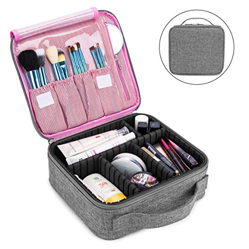 Makeup Bag Travel Cosmetic Bag for Women Nylon Cute Makeup Case Large Professional Cosmetic