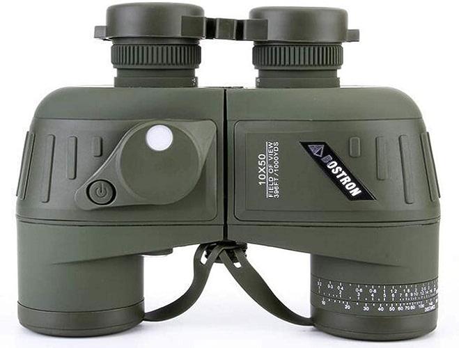 ZTYD Jumelles étanches, télescope 10M50 HD de Faible luminosité 1000M HD avec coordonnées de Parcours, Voyages, Sports et Vie Sauvage