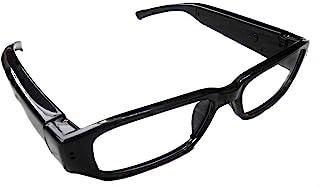 (Humpty Dumpty オリジナルセット) 720P HD高画質 メガネ型ビデオ&カメラ microSD対応 高解像度1280×720 眼鏡 メガネ 小型カメラ スパイ 防犯 録画
