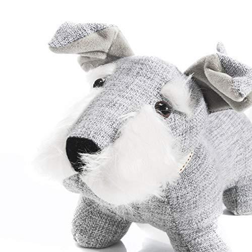Hund Türstopper - Süßer Türhalter Türpuffer Türsack Tierform - Handarbeit 1,3 kg Gewicht