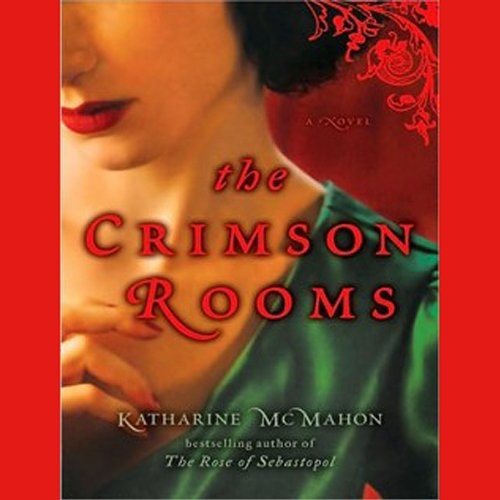 The Crimson Rooms audiobook cover art