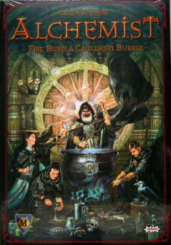 Alchemist Brettspiel auf Englisch