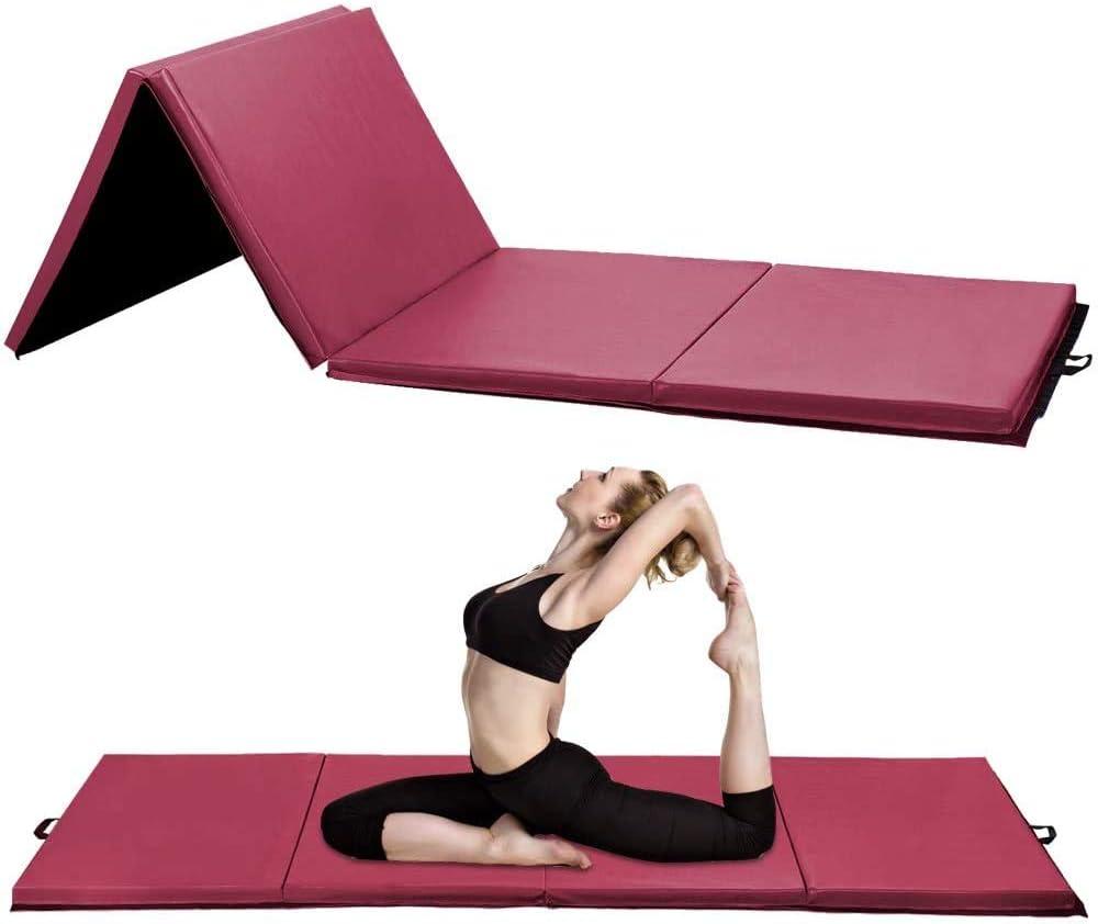 High Under blast sales quality Gymnastics Mat Gym Tumbling Floding Yoga Exer Thick