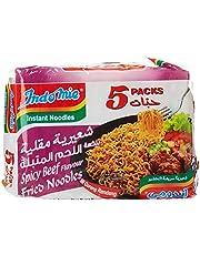 Indomie Rendang Fried Noodles, 5 X 80 gm (Pack of 1)