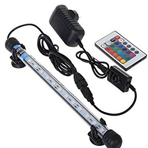 Asvert Eclairage Aquarium Etanche RGB Lampe Tube...
