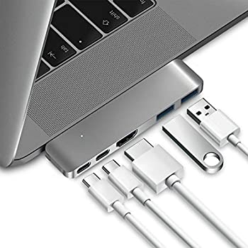 Purgo Mini USB C Hub Adapter Dongle for MacBook Air M1 2021-2018 and MacBook Pro M1 2021-2016 MacBook Pro USB Adapter with 4K HDMI 100W PD 40Gbps TB3 5K@60Hz USB-C and 2 USB 3.0.