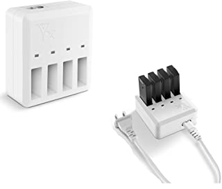 TUTUO DJI Tello バッテリー 急速充電器 ハブ 4イン1マルチ バッテリー チャージャー パワーアダプター