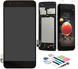 XR MARKET Compatible LG K8 2018 Screen Replacement, LCD Display Touch Screen Digitizer Assembly for LG Aristo 2 X210/LG SP200 Tribute Dynasty/LG K9 2018, with Tools, Screen Protector(Black W/Frame)
