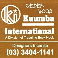 (クンバ) KUUMBA『incense』(CEDER WOOD) (Regular size)