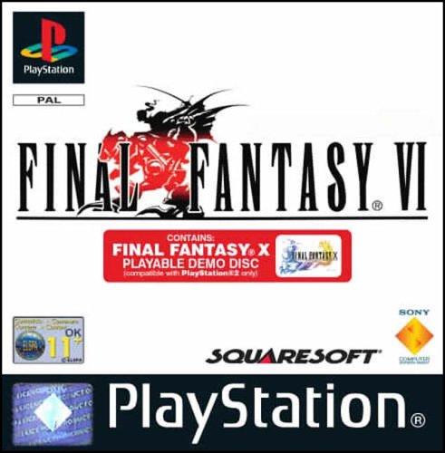 Final Fantasy VI - includes FF X PS2 Demo (PS)