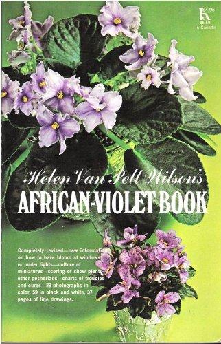 Helen Van Pelt Wilson's African-violet book