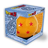 Dragon Ball Z - Bola de cristal de luz espía (4 estrellas, cable USB), color naranja