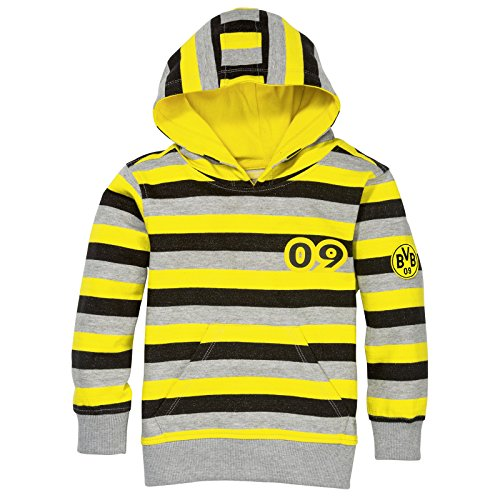 Borussia Dortmund BVB - Sudadera con capucha para niños (74/80)