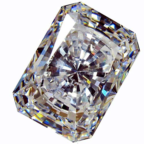Details about  /EX cutting round shape white color cubic zirconia stone