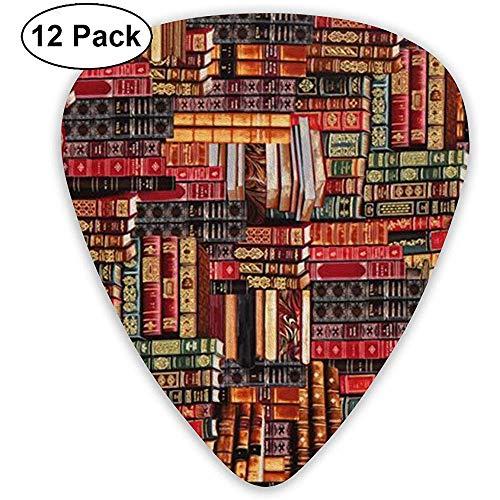 Gitarre Plektrum,Bücher Modische Valentinstag Vatertag Muttertag Für Hochzeitsfeier Dekoration Set Von 12