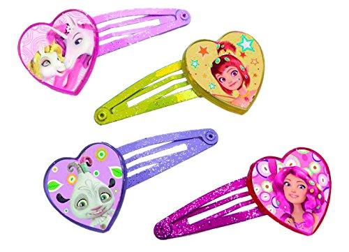 Joy Toy 118067Mia und Me 4Designs Haarspangen-Set auf Backer Karte