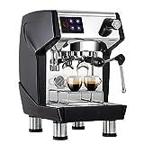 Espressomaschine Kaffeemaschine Halbautomatische Espressomaschine mit Milchaufschäumer...