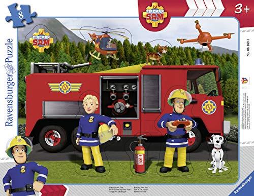 Ravensburger Kinderpuzzle 06169 - Rettung durch Sam - Rahmenpuzzle