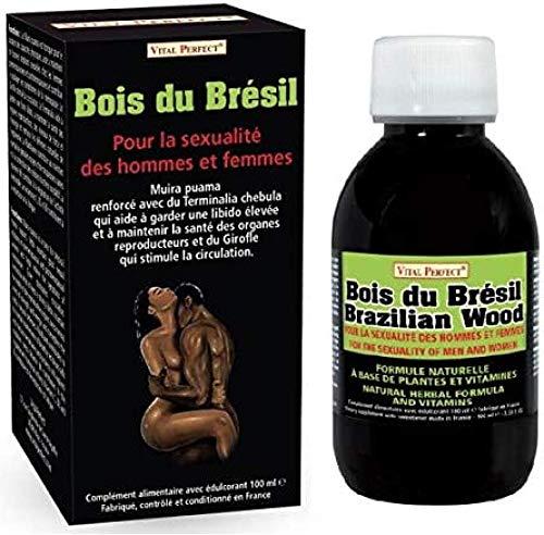 Bois du Brésil - Aphrodisiaque Puissant pour Hommes et Femmes - Booster de Libido - Amélioration Érections - Augmentation du Désir et du Plaisir