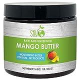 Mango Butter (16 oz) by Sky Organics Raw 100% Pure Unrefined Mango...