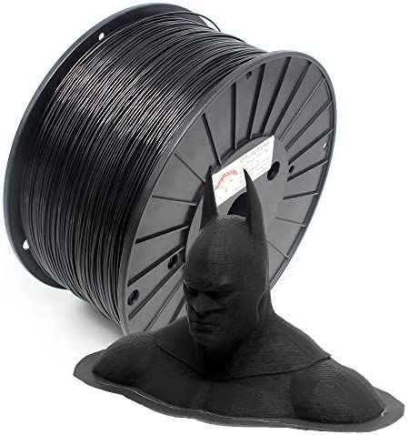 RepRapper Black Extra Strong PLA PRO PLA Filament for 3D Printer 3D Pen 1 75mm 0 03mm 6 6lbs product image